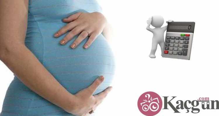 kaç aylık hamileyim