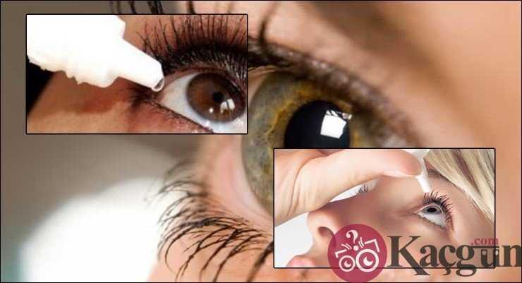 Göz damlası Kaç Gün Kullanılır?