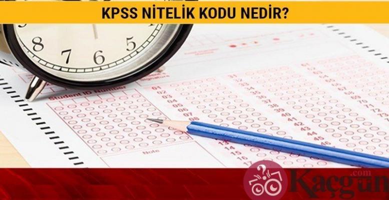 KPSS Nitelik Kodları